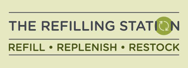 The Refilling Station Logo - Zero Waste shopping in Leeds