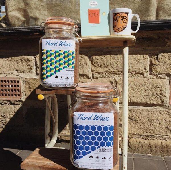 3rd wave coffee in jar