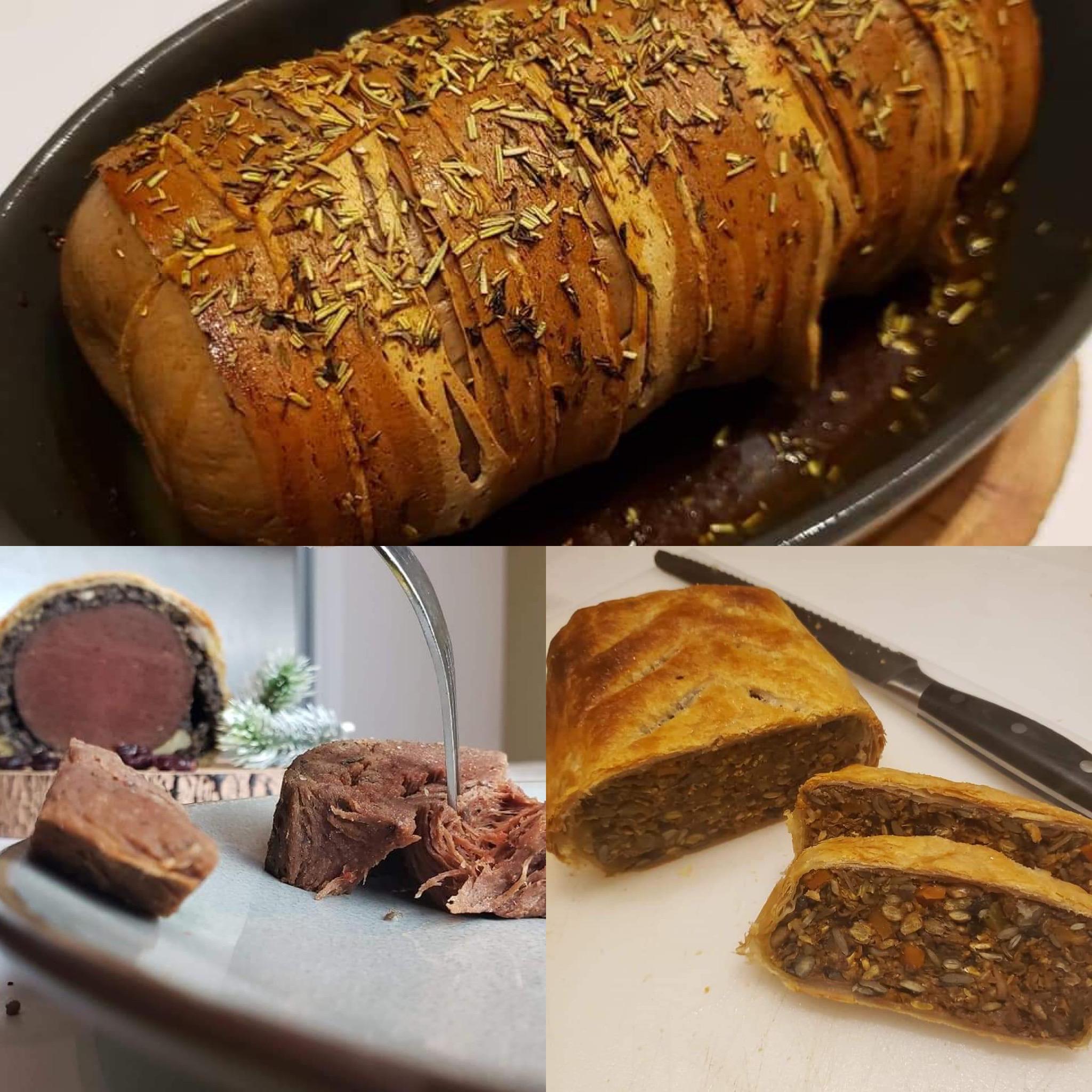 Image of vegan roasts
