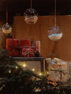 Image of glass baubles