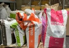 Sacks of Flour in chapel allerton, Leeds health food shop